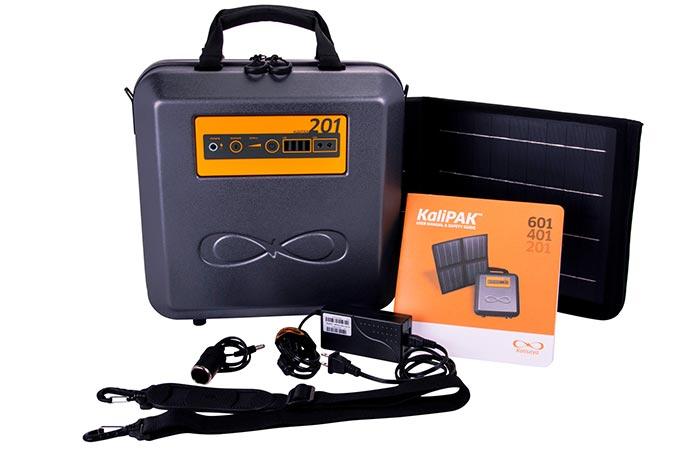 Солнечный генератор личного пользования.