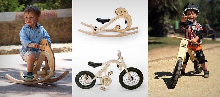 Гибридный велосипед LEG & GO.