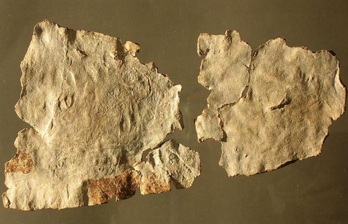 Таблички написаны латинской транскрипцией на галльском языке.