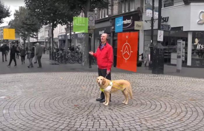 Новое приложение поможет всем слепым.
