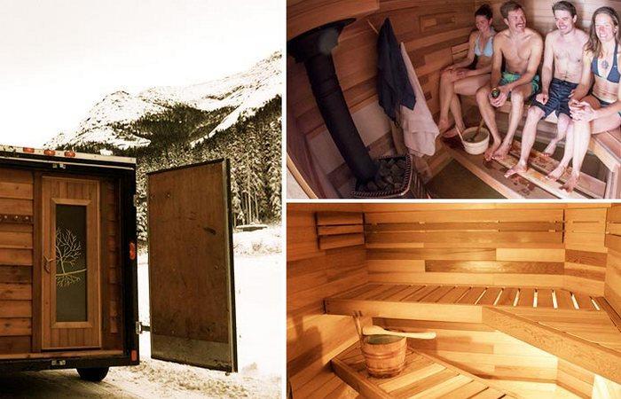 Мобильная Sauna Stoke.