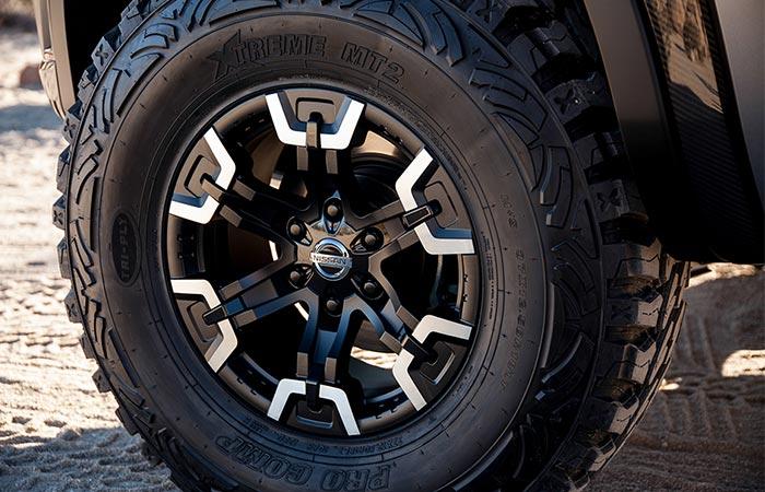 37-дюймовые колеса.