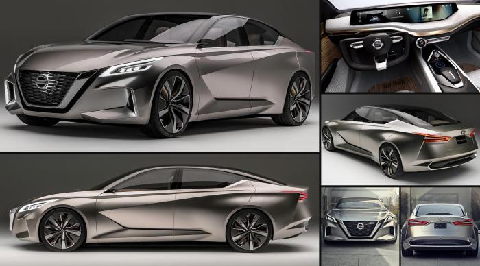 Nissan Vmotion 2.0 - концепт 2017 года.