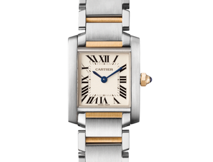 Cartier Tank Francaise Small Model Watch.