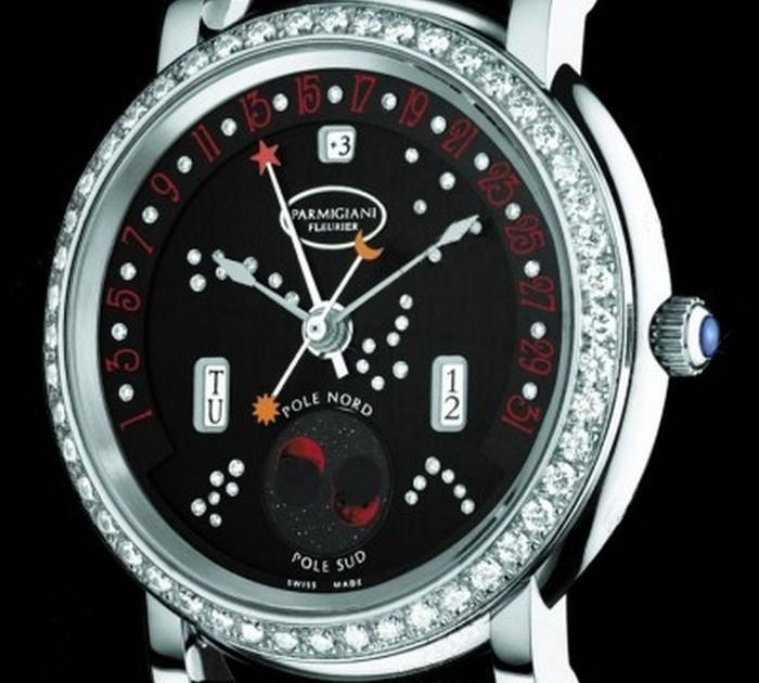 Parmigiani Fleurier Toric Retrograde Perpetual Calendar Watch.