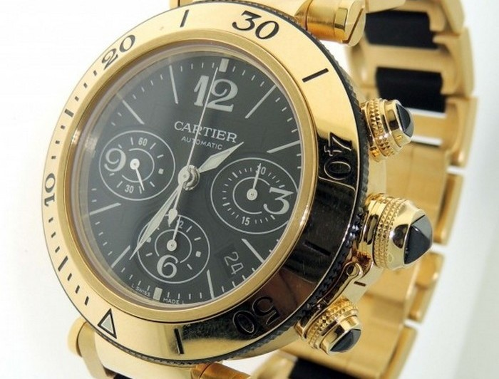 Cartier Pasha de Cartier Small Model Watch.
