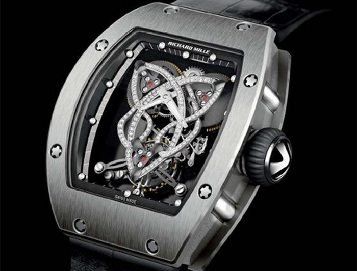 Richard Mille Caliber RM 019 Celtic Knot Tourbillon Watch.