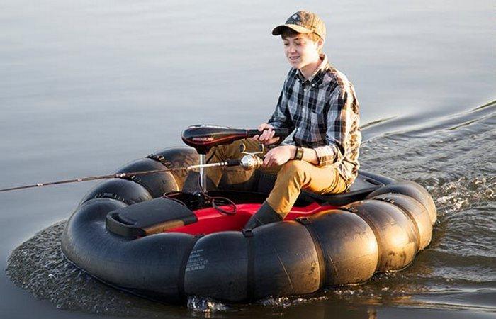GoBoat – самая маленькая лодка в мире.