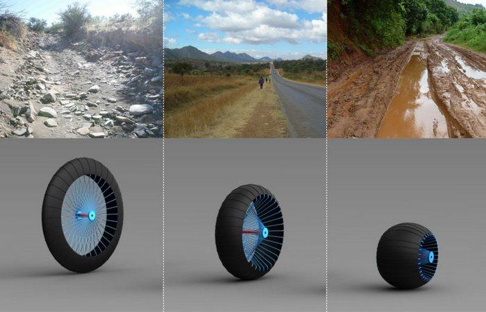 Roadless Wheel.