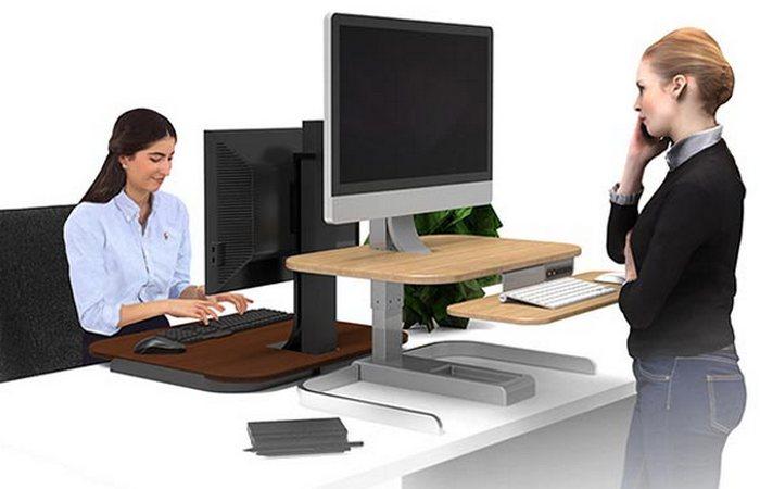Crossover Motorized Standing Desk.