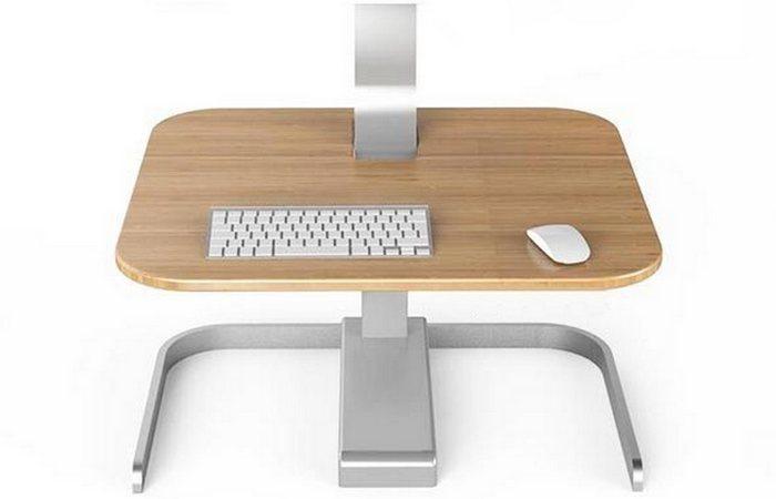 Crossover Motorized Standing Desk по сути движущаяся дополнительная крышка стола.
