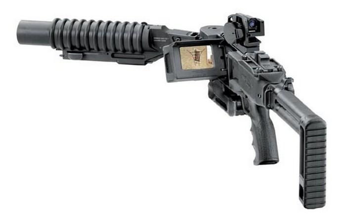 Угловые ружья класса Cornershot.