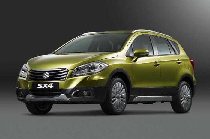 Suzuki SX4 - прекрасный семейный авто.