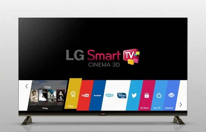 LG Smart TV.