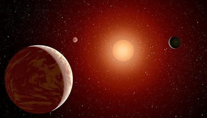 14 световых лет от Земли.