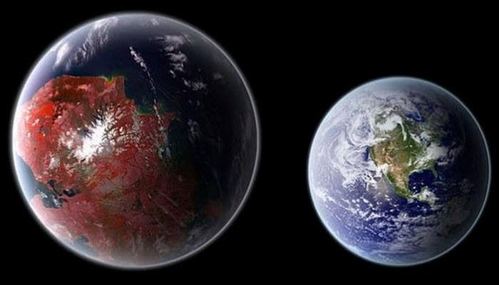 1100 световых лет от Земли.