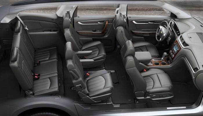 Салон Chevrolet Traverse.