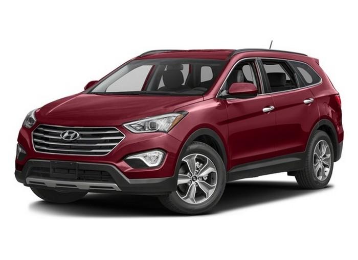 Автомобиль Hyundai Santa Fe.