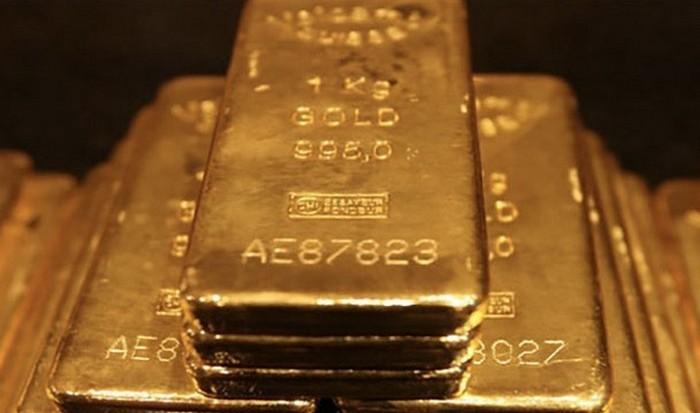 Слиток золота в 250 кг.