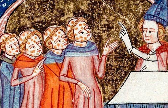 Средневековое лечение.