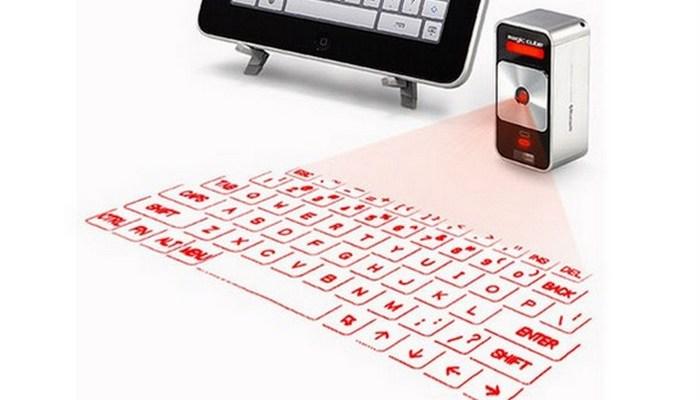 Забавный аксессуар: Celluon Virtual Keyboard.
