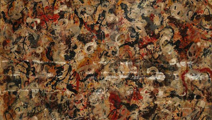 Картина Джексона Поллока стоимостью 10 миллионов долларов в США.