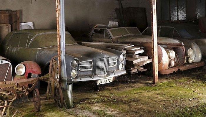 60 редких автомобилей стоимостью миллионы долларов во Франции.