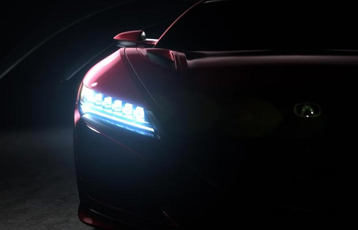 Оптика Acura NSX.