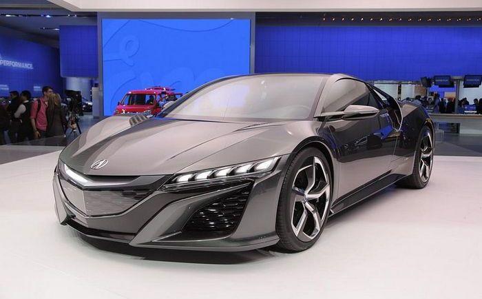 Acura NSX - наследник легенды.