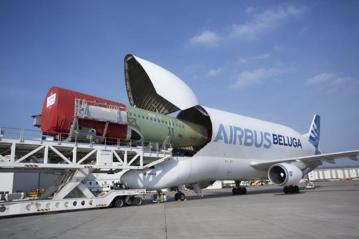 Airbus - самолёт для супергрузов.