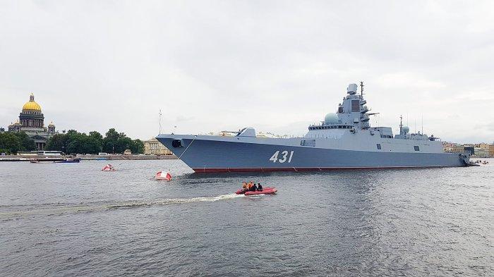 Многоцелевой корабль. |Фото: fleetphoto.ru.