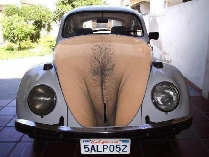 Автомобиль-вагина.