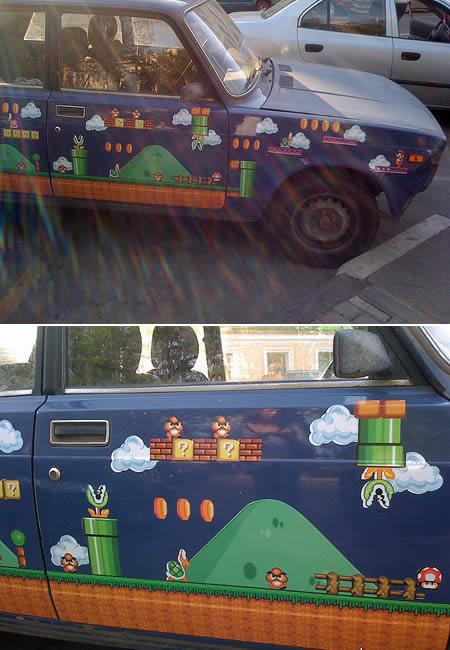 Супер Марио.