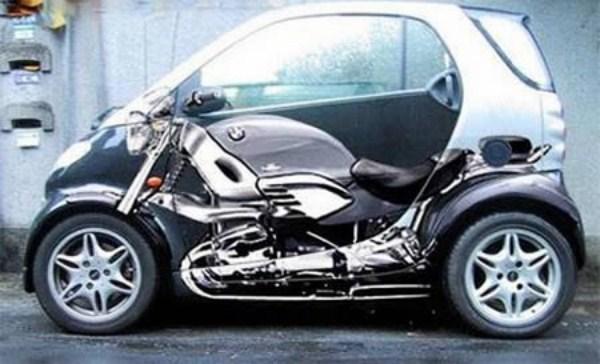Прозрачный автомобиль.