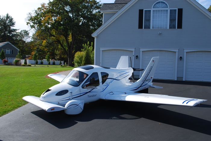 Автомобиль-самолет Transition уже в серии.