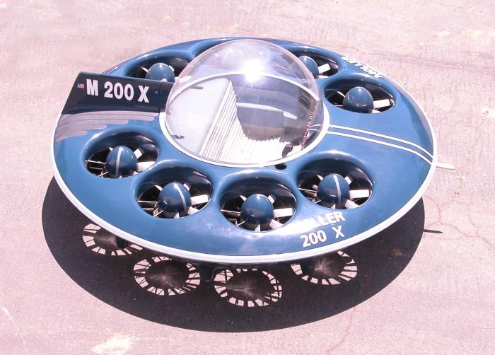Moller 200 X - один из первых летающих авто.