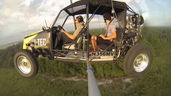 Maverick Flying Car: Полетели!
