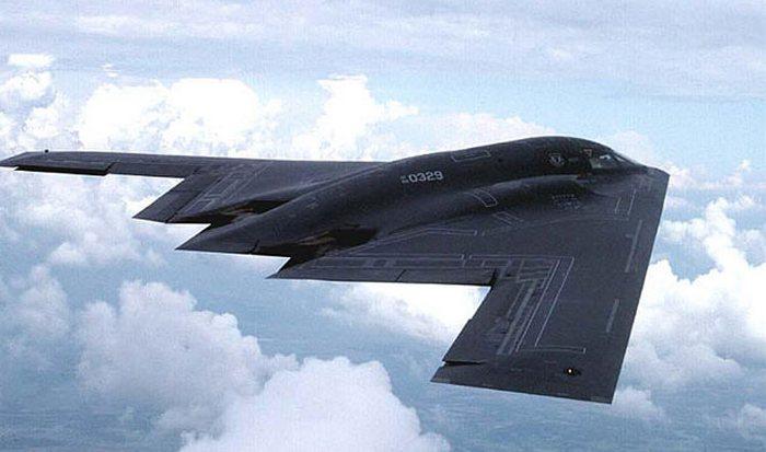 Самолет Northrop Grumman B-2 Spirit.