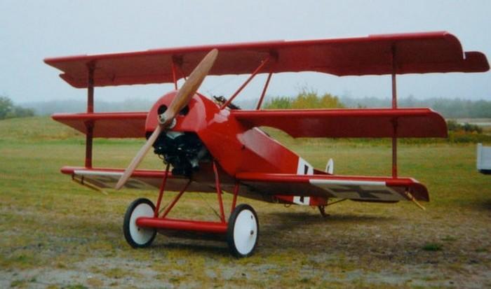 Самолет Красный Барон.