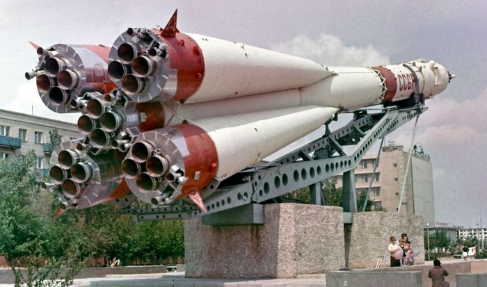 Ракета-носитель Союз.