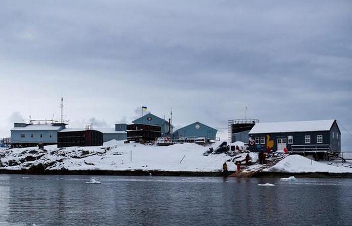 В Антарктиде есть бар.