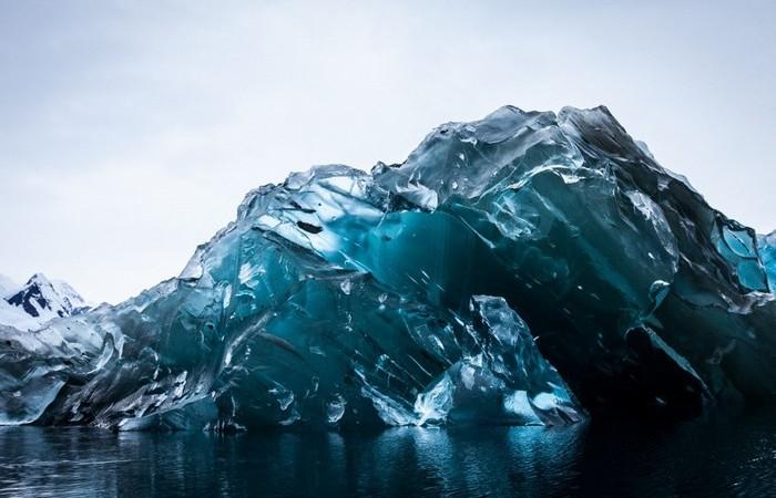 Ледяной щит Антарктиды.
