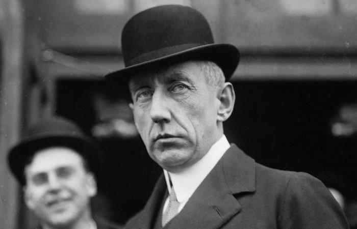 Норвежский исследователь Руаль Амундсен.