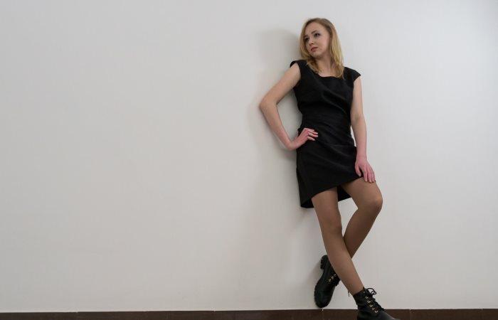 Белоруска создала платье-трансформер.