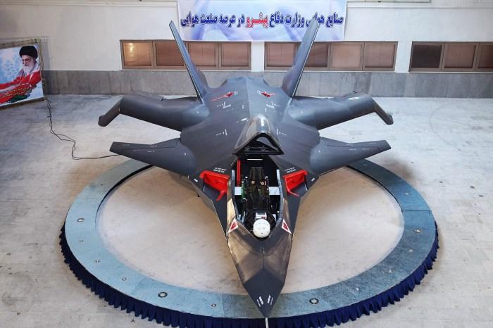 Многоцелевой ударный самолет Qaher-313.