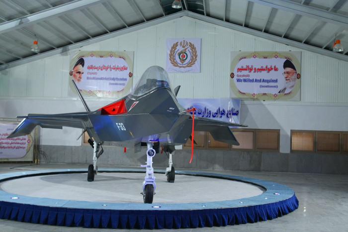 Qaher-313 - иранский истребитель-невидимка.