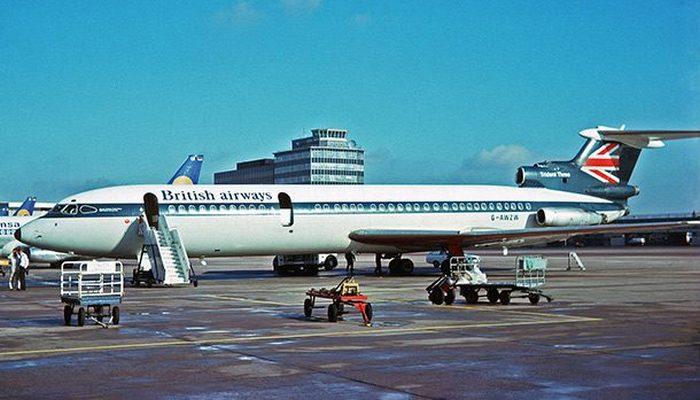 Пассажирский самолет Hawker-Siddeley Trident HS.121 2.