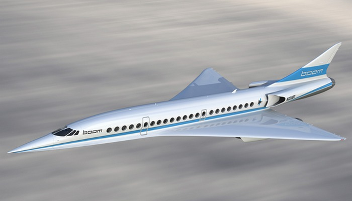 Пассажирский самолет Boom Supersonic.