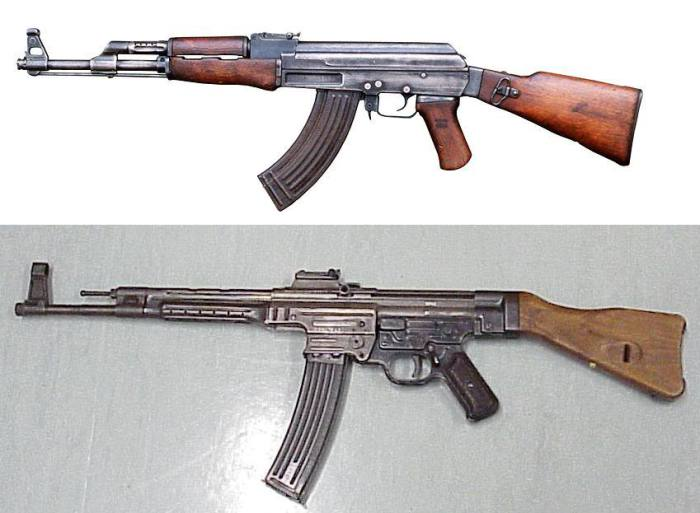 Найди отличия: STG-44 и АК-47
