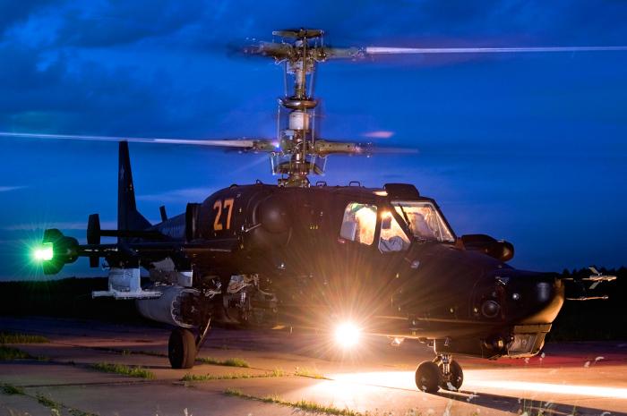 В вертолете было много инновационных решений. |Фото: photosight.ru.